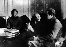 Krupskaya, Lenin & Eure 1920 Russian Soviet Communism 7x5 Inch Reprint Photo