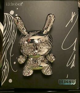 "Tristan Eaton x Kidrobot New Money 5"" Metal Dunny Art Figure New Signed"