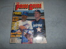SCD BASEBALL CARD PRICE GUIDE - DEC. 1989 WITH PROMO CARDS