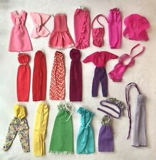 VIntage Barbie SUPER STAR BEST BUY Clothes MOD Lot Dresses Jumpsuit EUC