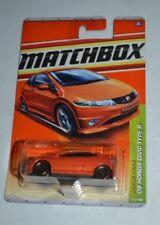2010 MATCHBOX METRO RIDES '08 HONDA CIVIC TYPE R ORANGE 29/100 VHTF !! RARE !!