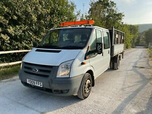 2009 Ford Transit Crew Cab Tipper with Tail Lift - 6 Speed