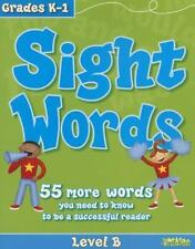 Flash Kids Workbooks: Sight Words: Level B (Flash Kids Workbooks) Homeschool
