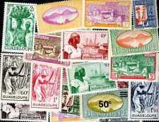 Guadeloupe 100 briefmarken unterschiedliche