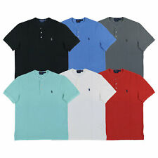 Polo Ralph Lauren Mens Featherweight Mesh Henley T-Shirt S M L Xl Xxl New Nwt