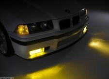 For BMW M3 E36 Yellow Set foglamps front foglights fogs EO OEM haze mist lamp