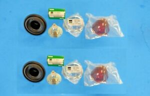 New Pair Rear Flasher Lamp Assemblies MGA 1500 and 1600 Bugeye TR2 TR3s