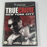True Crime: New York City (Nintendo GameCube, 2005) Complete Tested Works