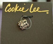 Cookie Lee - Vivi Crystal Butterfly Toe Ring Nwt