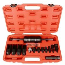 14PC Diesel INYECTOR Extractor Set con adaptador de Common Rail PULLER DESLICE MARTILLO