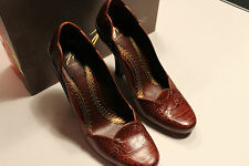 """J. Vincent Pascal Women Shoes, Size 7, in box, Color New rustle,two tone 4"""" heel"""