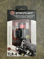 Streamlight 69240 TLR-4 LED Compact Tactical Gun Mount Flashlight Laser Sight