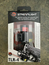 Streamlight 69240 TLR-4 LED Compact Tactical Gun Mount Flashlight Laser Sight