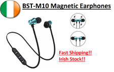 Magnetic Bluetooth 4.1 Earphone Wireless Running Sport Headphones iPhone Samsung