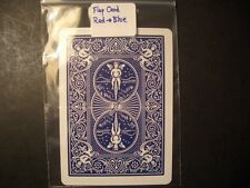 Magic Flap Card (Bicycle)  RED to BLUE, elastic mechanism