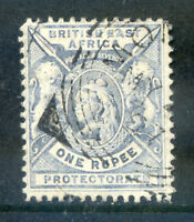 British East Africa 1896-1901 R1 plae dull blue fine used (2018/11/17#04)
