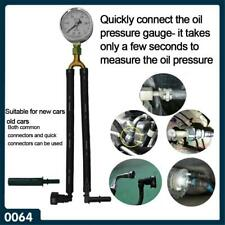 Auto Car Oil Pressure Gauge Fuel Pressure Gauge Test Meter Test Gasoline  tool