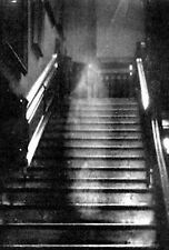 Framed Print - Grainy Old Photo The Brown Lady of Raynham Hall (Gothic Picture)