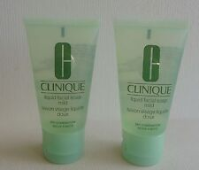 Set of 2 CLINIQUE Liquid Facial Soap - Mild, 2x30ml=60ml, Brand NEW!!