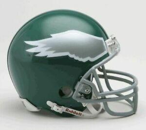 Philadelphia Eagles Throwback 1974-1995 74-95 Riddell Football Mini Helmet New