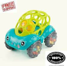 Soft Plastic Toy Car Inertial Slide With Colorful Ball Anti-fall Children Toy