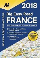AA Big Easy Read France 2018 (AA Road Atlas) (Aa Road Atlas France) by AA Publis