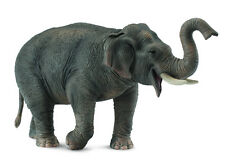 ASIAN ELEPHANT CollectA Wildlife 2011 NEW figure 88486 Indian Sri Lankan Elephas