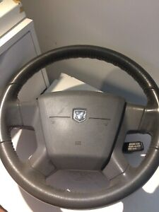 DODGE 06-09 CALIBRE AVENGER STEERING WHEEL AND A/B