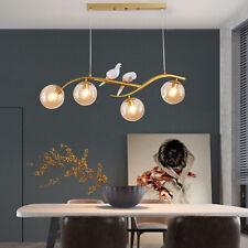 110V Nordic 2-Birds Lights Chandeliers 4-Light Pendant Lamps Ceiling Fixtures