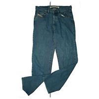 DIESEL Industry Herren Jeans Hose used look classic 34/36 W34 L36 blau stonewash