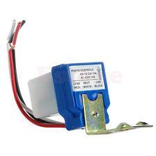 AC 220V 10A Auto On Off Photocell Street Light Photoswitch Sensor Switch