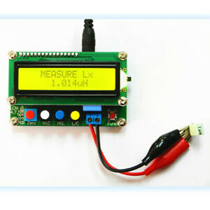 LC 100A LCD Kapazitätsinduktivitätsmesser LC Meter 1pF 100mF 1uH 100H