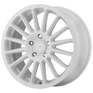 """Motegi MR141 16x7.5 5x112 +40mm White Wheel Rim 16"""" Inch"""