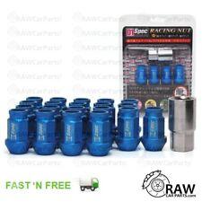 M12 x 1.5 Blue D1 Spec JDM Tuner Lug Wheel Nuts for Honda Civic / Glanza (20pcs)