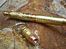 308 Rifle Brass Engraved Personalized Ink Pen Police Gift Deer Hunter Hunting