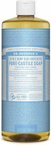 Dr Bronner Organic Castile Liquid Soap 946ml
