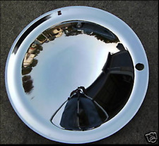 "14""Chrome (2) BABY MOON Hub Caps Cool Custom,Rat Rod"