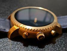 Fossil Q Explorist Gen 3 Smartwatch Rose Gold Tone Blue Leather FTW4002 DW4A