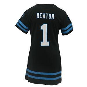 Carolina Panthers NFL Youth Girls Size Jersey-Style Cam Newton Long Dress Shirt