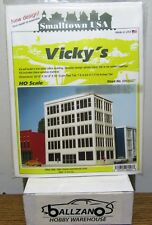 Smalltown USA ( Rix Products) 699-6027 Vicky's Five story office building HO