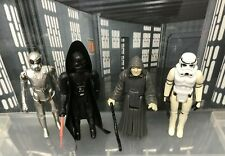 Vintage Star Wars Figures - 4 Imperials with Weapons and Accessories