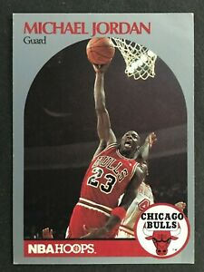 MICHAEL JORDAN 1990 NBA HOOPS  NO 65     57999
