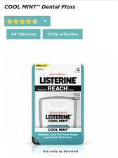 Johnson & Johnson LISTERINE COOL MINT FLOSS - 55 Yards REMOVE MORE PLAQUE Sealed