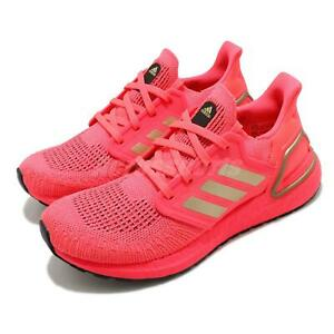 adidas UltraBOOST 20 Signal Pink Gold Women Running Shoes Sneakers BOOST FW8726