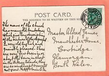 More details for st magnus cathedral kirkwall pc 1903 double circle twin arcs postmark ah697