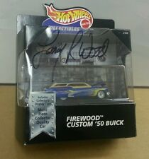 "1998 Hot Wheels Limited Edition Firewood Custom ""50 Buick Signed by Larry Wood"