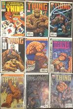 9 The Thing Fantastic Four Comic Books Marvel Lot NM