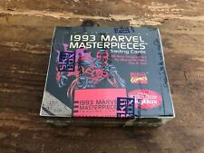 1993 Skybox Marvel Masterpieces Trading Cards Factory Sealed FINAL EDITION!!! 2M