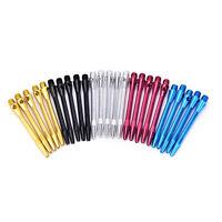5x dardos ejes de aluminio colorido DART ejes dardos vástagos lanzando jugueteQA