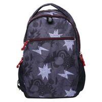 """Cat & Jack 18"""" Kids Superhero Laptop Sleeve Backpack Book School Bag Gray Red"""